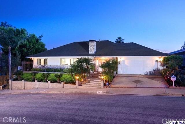 Single Family Home for Sale at 614 Robin Glen Drive Glendale, California 91202 United States