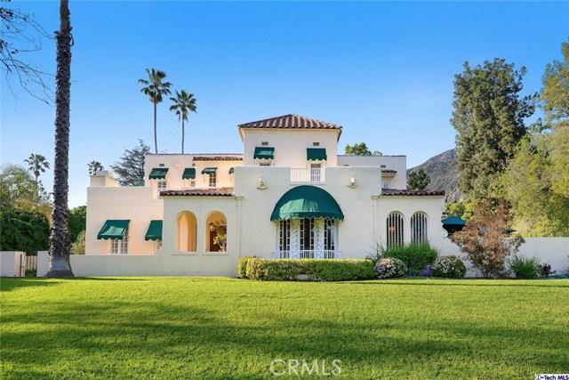 Single Family Home for Sale at 2001 Mendocino Lane Altadena, California 91001 United States