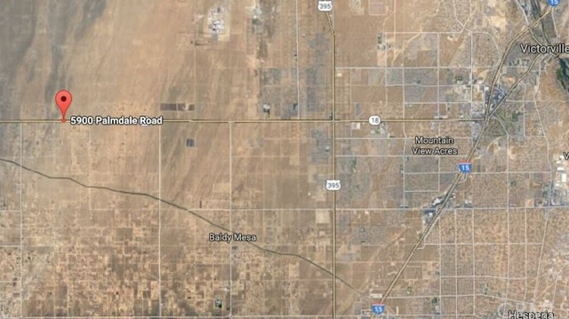Land for Sale at 5900 Palmdale Road Phelan, California United States