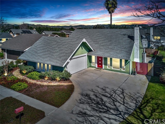 One of Single Story Anaheim Hills Homes for Sale at 280 N Avenida Cordoba