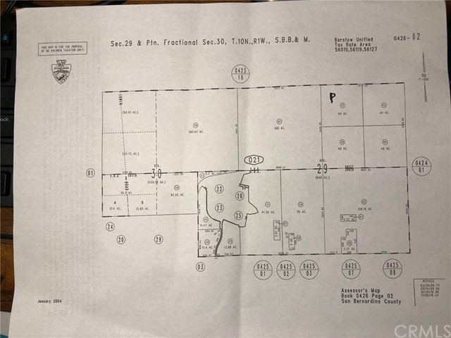Detail Gallery Image 1 of 1 For 0 0, Unincorporated,  CA 92311 - – Beds | – Baths