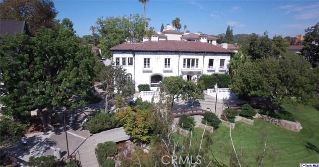 Single Family Home for Sale at 160 Orange Grove Boulevard S Pasadena, California 91105 United States