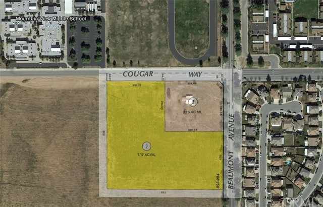 Terreno por un Venta en 11543 Beaumont Avenue Beaumont, California 92223 Estados Unidos