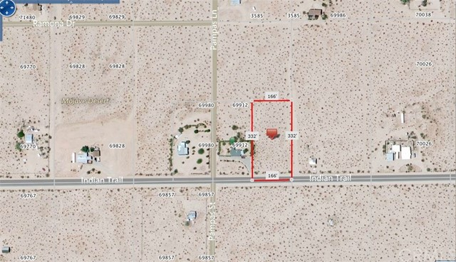 69900 Indian Trail 29 Palms, CA 92277 - MLS #: DW17255381