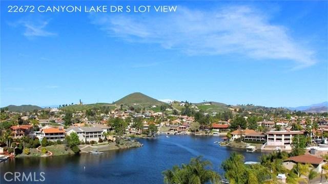22672 Canyon Lake Drive  Canyon Lake CA 92587