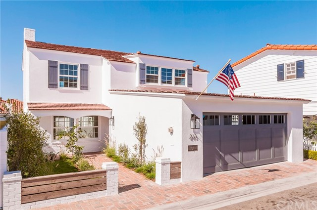 213 Via Mentone Newport Beach, CA 92663 - MLS #: NP17244661