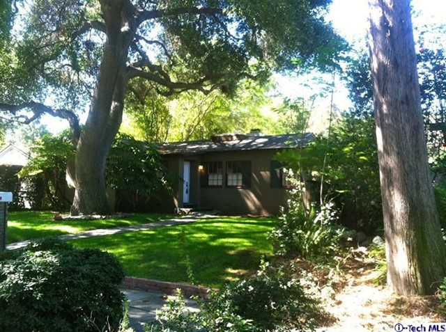 Single Family Home for Rent at 1321 Ontario Avenue Pasadena, California 91103 United States