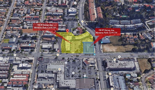 Land for Sale at 780 W Garvey Avenue Monterey Park, 91754 United States