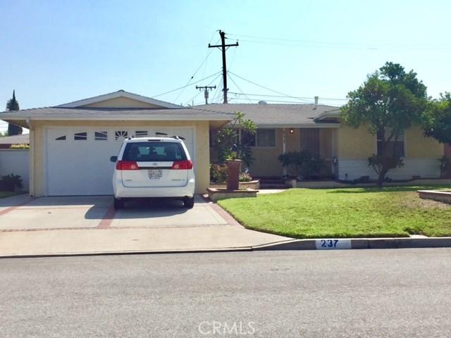 237 N Halyard Lane Orange, CA 92868 - MLS #: PW17203396