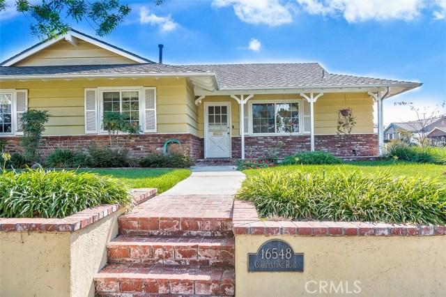 16548 Cobblestone Road La Mirada, CA 90638 - MLS #: PW17237906