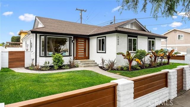 2600 Grant Avenue, Redondo Beach, California 90278, 4 Bedrooms Bedrooms, ,2 BathroomsBathrooms,Single family residence,For Sale,Grant,SB20091408