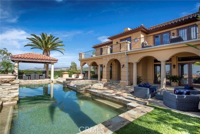 Single Family Home for Sale at 3 Vista Tramonto Newport Coast, California 92657 United States