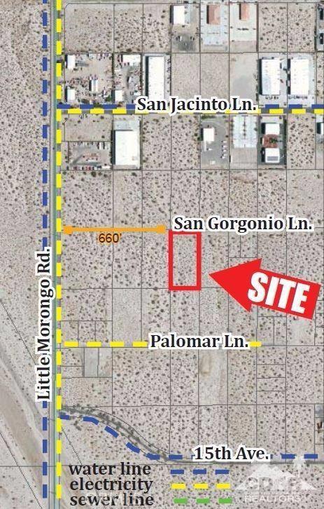 Land for Sale at San Gorgonio San Gorgonio Desert Hot Springs, California 92240 United States