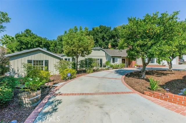 Single Family Home for Sale at 1545 S El Molino Avenue Pasadena, California 91106 United States