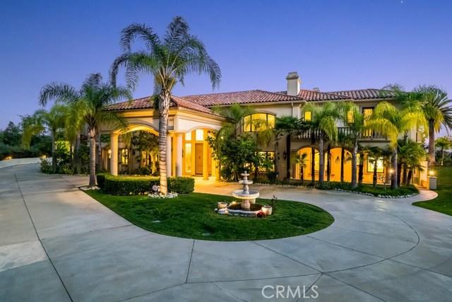 Single Family Home for Sale at 100 Oak Knoll Lane Bradbury, California 91008 United States