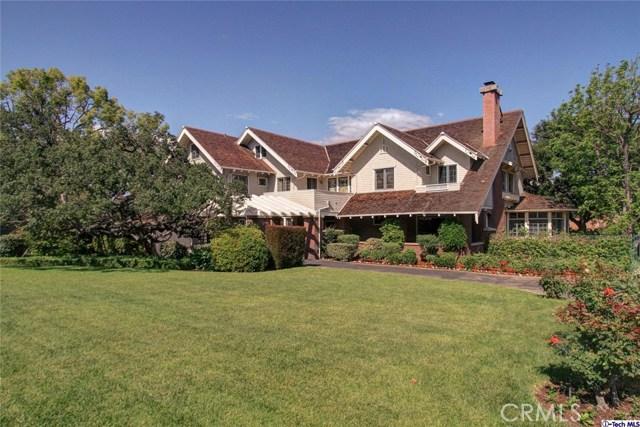 Single Family Home for Sale at 1460 Avonrea Road San Marino, California 91108 United States