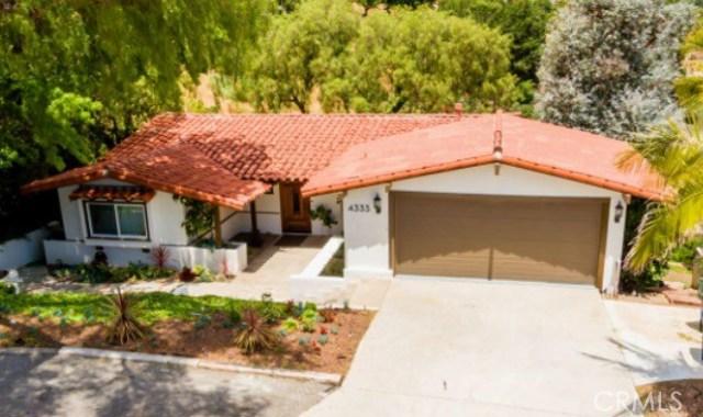 4333 Via Frascati Rancho Palos Verdes, CA 90275 - MLS #: PV17118498