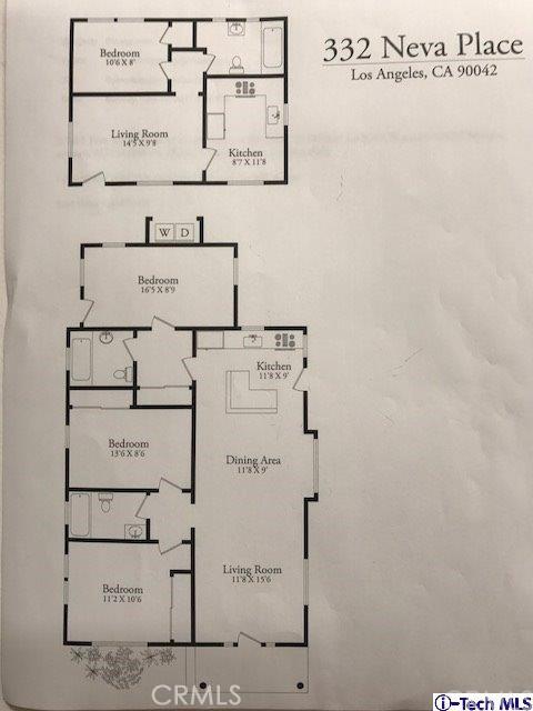 332 Neva Place Highland Park, CA 90042 - MLS #: 317005809