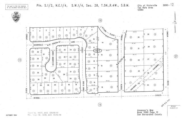 0 Cherrydale Lane Victorville, CA 92395 - MLS #: CV18182437