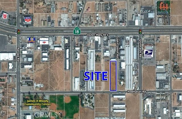 0 John Glenn Road Apple Valley, CA 0 - MLS #: OC17103256