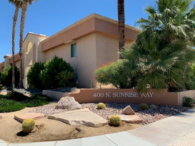 Detail Gallery Image 1 of 1 For 400 N Sunrise Way #142,  Palm Springs,  CA 92262 - 1 Beds | 1 Baths