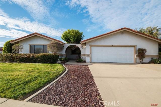 541 Garnet Way, Santa Maria, CA 93454