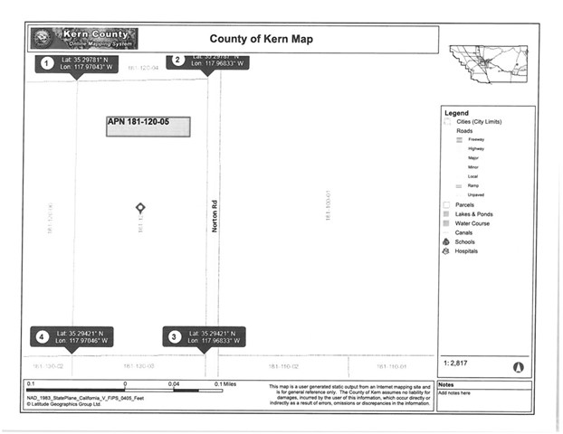 Land for Sale at 93523 Norton Cantil, California United States