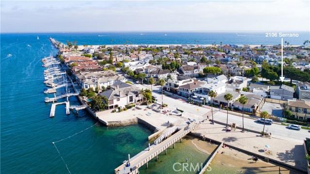 2106 Serrano Avenue  Newport Beach CA 92661