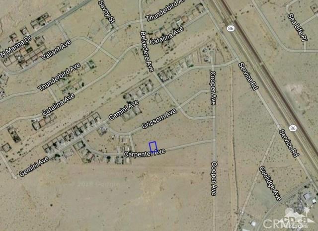 1430 Carpenter Avenue Thermal, CA 92274 - MLS #: 218021562DA