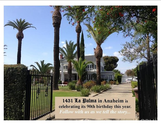1431 E LA PALMA Avenue Anaheim, CA 92805 is listed for sale as MLS Listing P809696