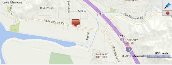 0 Lakeshore Lake Elsinore, CA 0 - MLS #: SB18034608