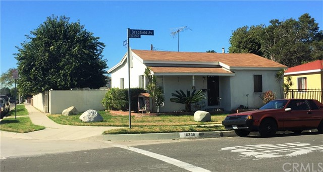 16339 S Bradfield Avenue Compton, CA 90221 is listed for sale as MLS Listing DW16031100