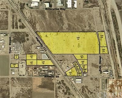 Land for Sale at Hwy 111 (Lot 37 RCBC) Coachella, California 92236 United States