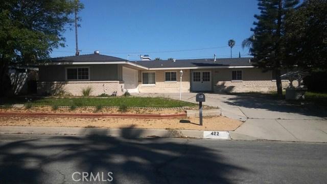 Single Family Home for Rent at 422 Mesa Drive E Rialto, California 92376 United States