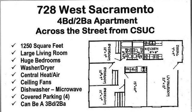 728 W Sacramento Avenue Chico, CA 95926 - MLS #: CH17125209