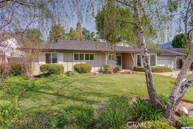 Single Family Home for Rent at 937 Flanders Road La Canada Flintridge, California 91011 United States