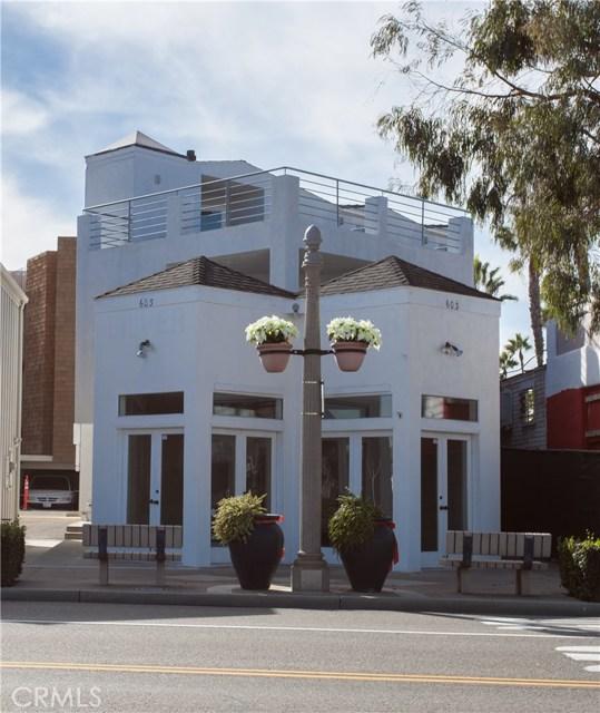 603 E Balboa Boulevard  Newport Beach CA 92661