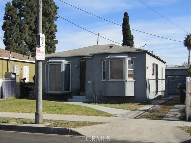 Single Family Home for Sale at 11204 Alvaro Street 11204 Alvaro Street Los Angeles, California 90059 United States