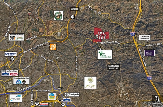 Land for Sale at N Gopher Canyon Road Bonsall, California United States