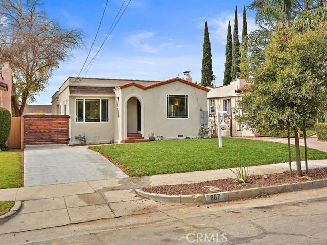 867 Manzanita Avenue, Pasadena, CA, 91103