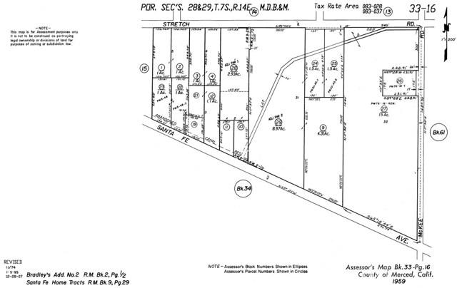 1975 E SANTA FE Avenue Merced, CA 0 - MLS #: MC18226513