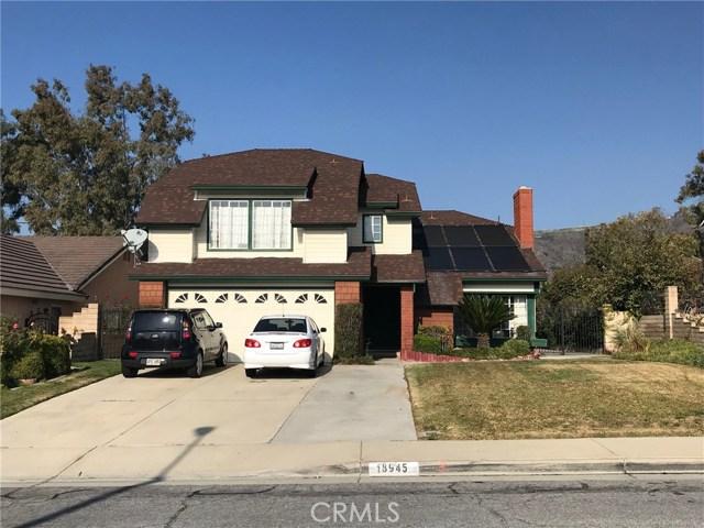 18945  Cedar Ridge Court, Walnut in Los Angeles County, CA 91789 Home for Sale