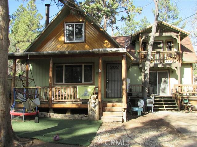 Single Family Home for Sale at 250 Leonard Lane Big Bear City, California 92314 United States
