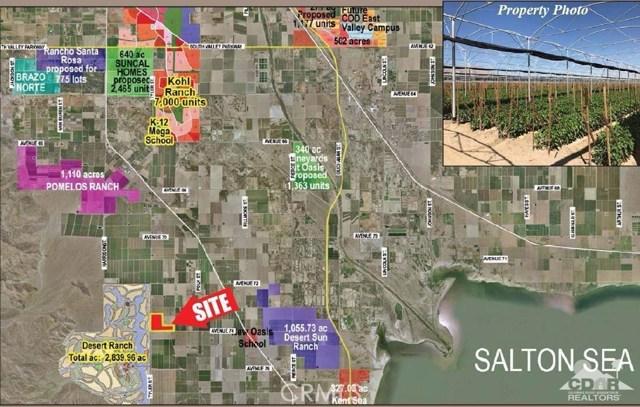 Avenue 74 Thermal, CA 92274 - MLS #: 217027542DA