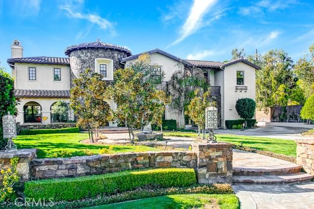Single Family Home for Sale at 4325 Hidden Oaks Drive Yorba Linda, California 92886 United States