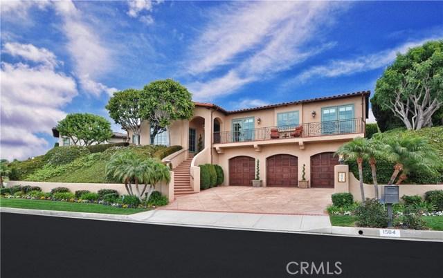 1504 Via Castilla Palos Verdes Estates, CA 90274 - MLS #: PV18002513