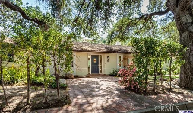 Single Family Home for Rent at 1107 Laguna Road Pasadena, California 91105 United States