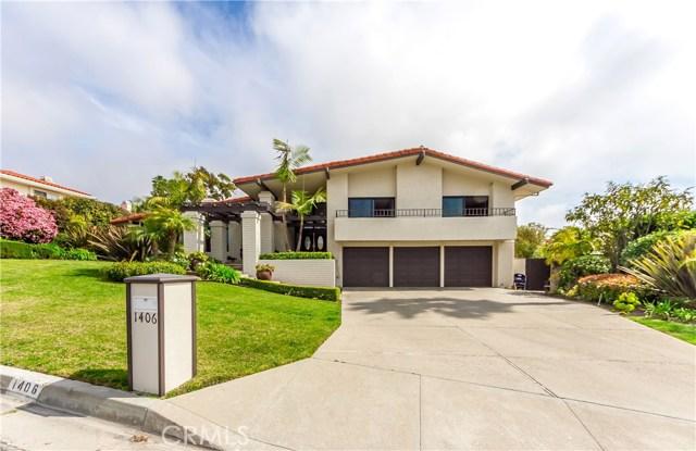 1406 Via Coronel, Palos Verdes Estates, CA 90274