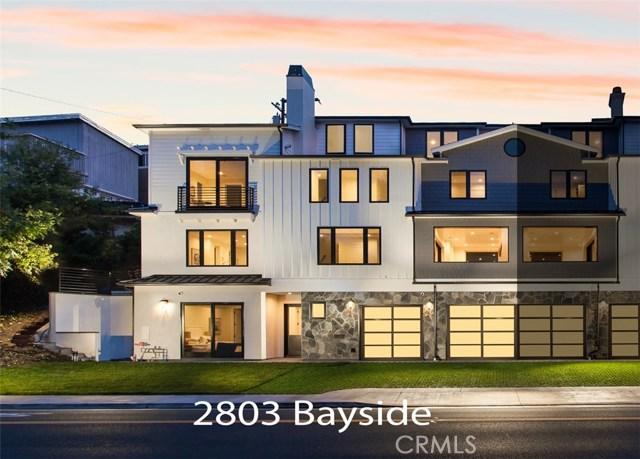 2803 Bayside Corona Del Mar, CA 92625 - MLS #: LG18035455