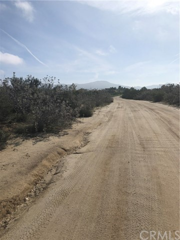 0 Falcon Road Sage, CA 92544 - MLS #: SW17251510